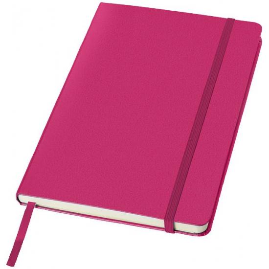 Roze luxe schrift A5 formaat harde kaft