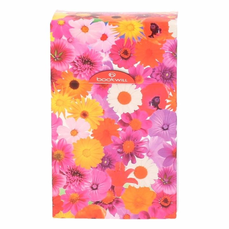 Sigarettenpakje hoesje met bloemen