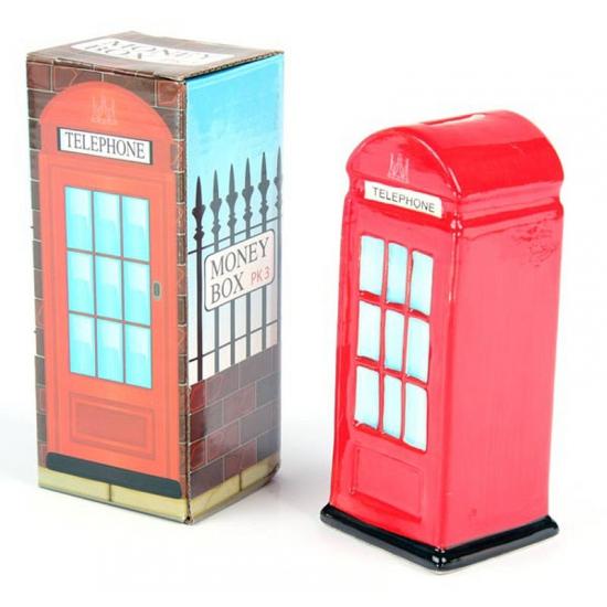 Spaarpot Londense telefooncel
