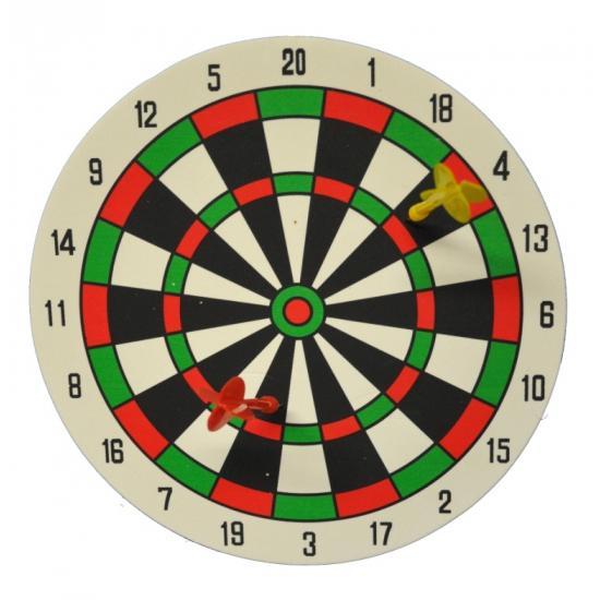 Speel dartbord van foam 27 cm
