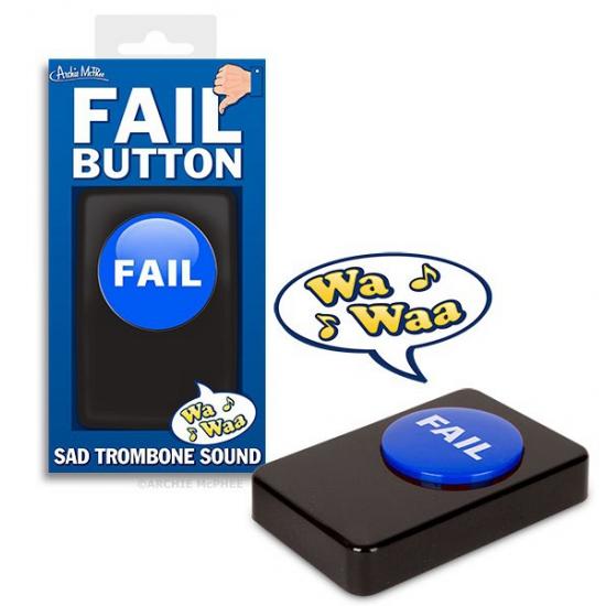 Speelgoed button met afgang geluid