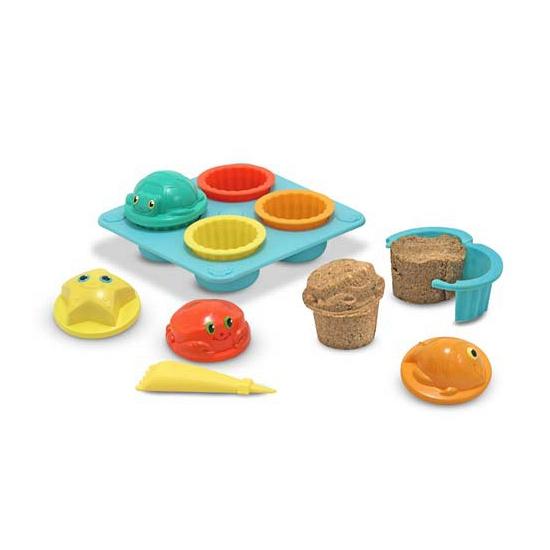 Speelset zand cupcakes