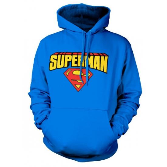 Superman hoodie voor volwassenen
