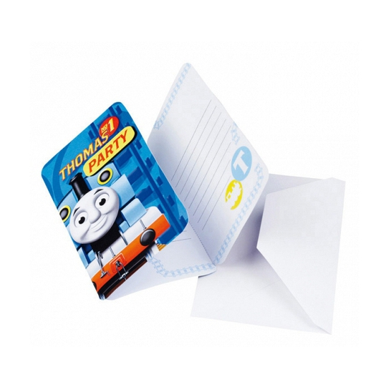 Thomas de Trein uitnodigingen en enveloppen