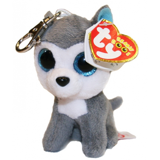 Ty Beanie Boo sleutelhanger husky Slush