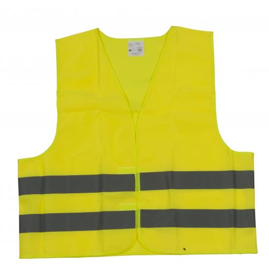 Veiligheidsvest geel voor volwassenen