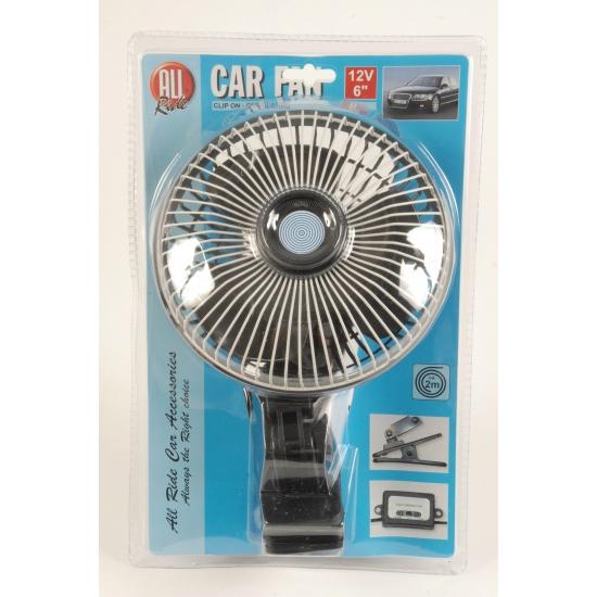 Ventilator voor op reis 12V