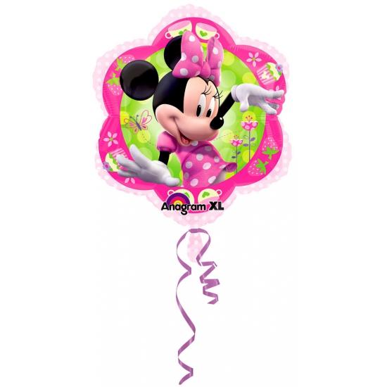 Verjaardag Minnie Mouse folie ballon 45 cm