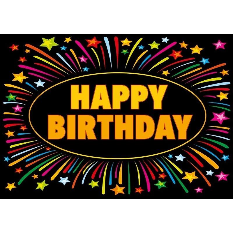 Verjaardag wenskaart Happy Birthday