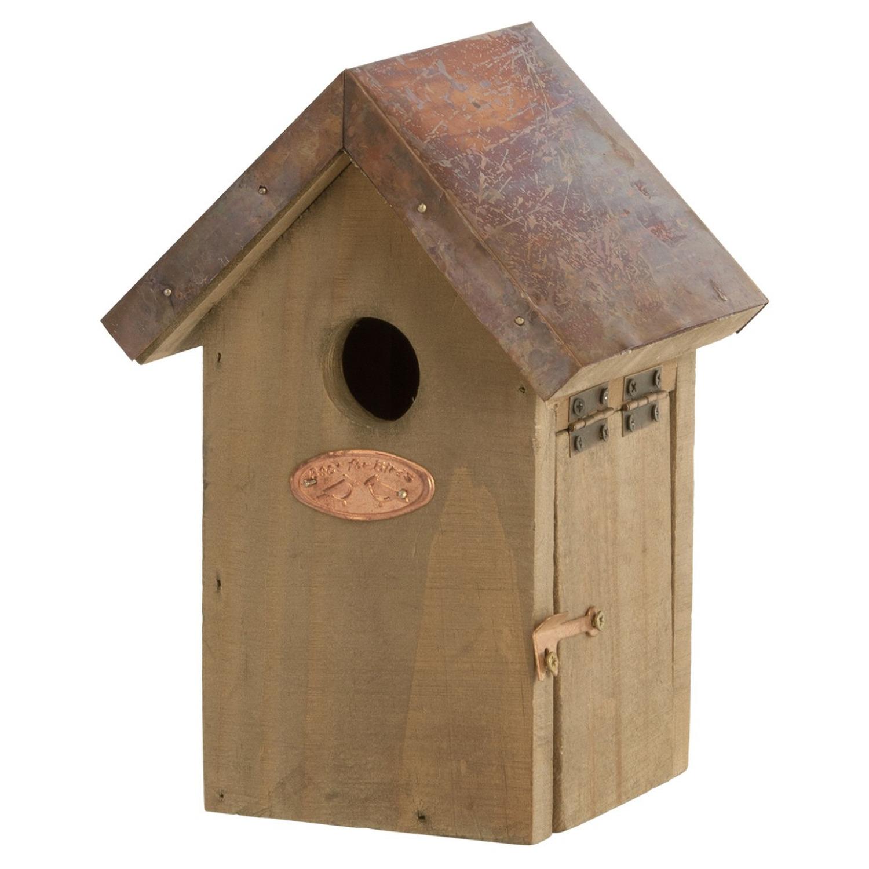 Vogelhuisje/nestkastje winterkoning 20 cm