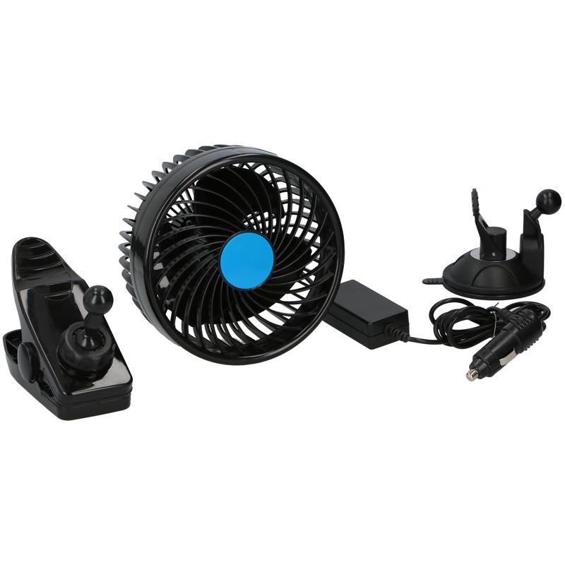Vrachtwagen ventilator met zuignap 24V