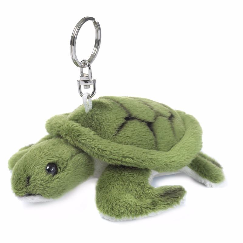 WNF sleutelhanger groen schildpadje