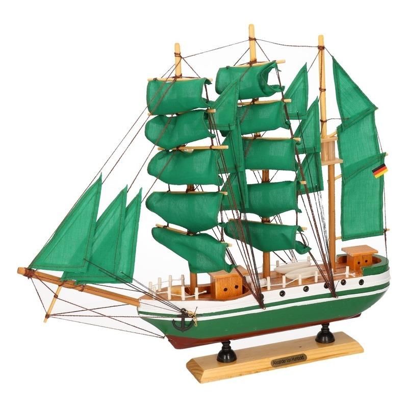 Zeeschip decoratie Alexander von Humboldt