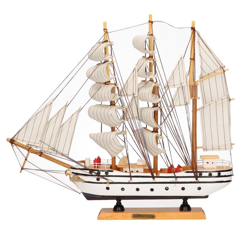 Zeeschip decoratie Gorch Fock