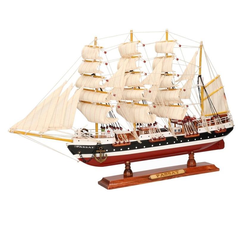 Zeeschip decoratie Passat 50 cm
