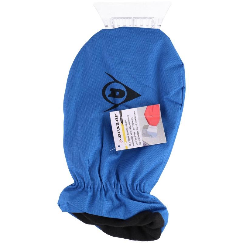 1x IJskrabbers met warme handschoen blauw 35 cm