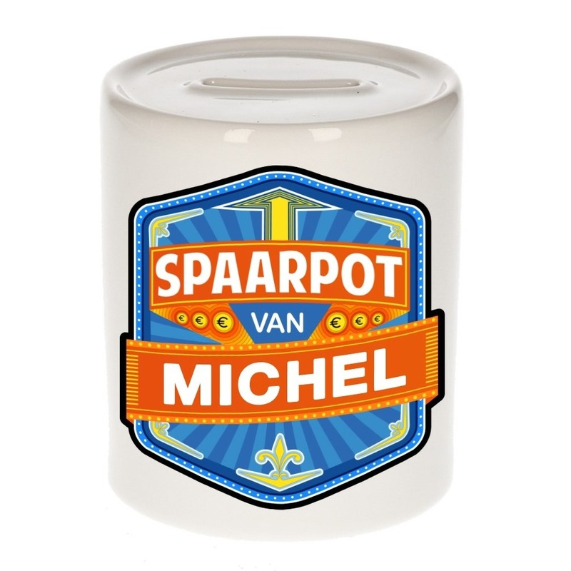 Gekleurde Michel spaarpotten voor kinderen