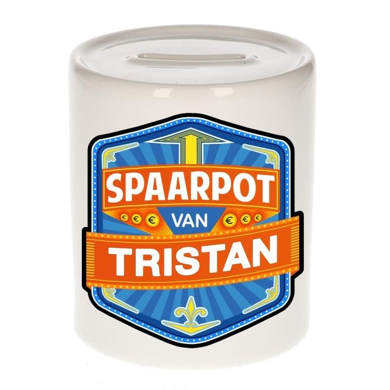 Gekleurde Tristan spaarpotten voor kinderen