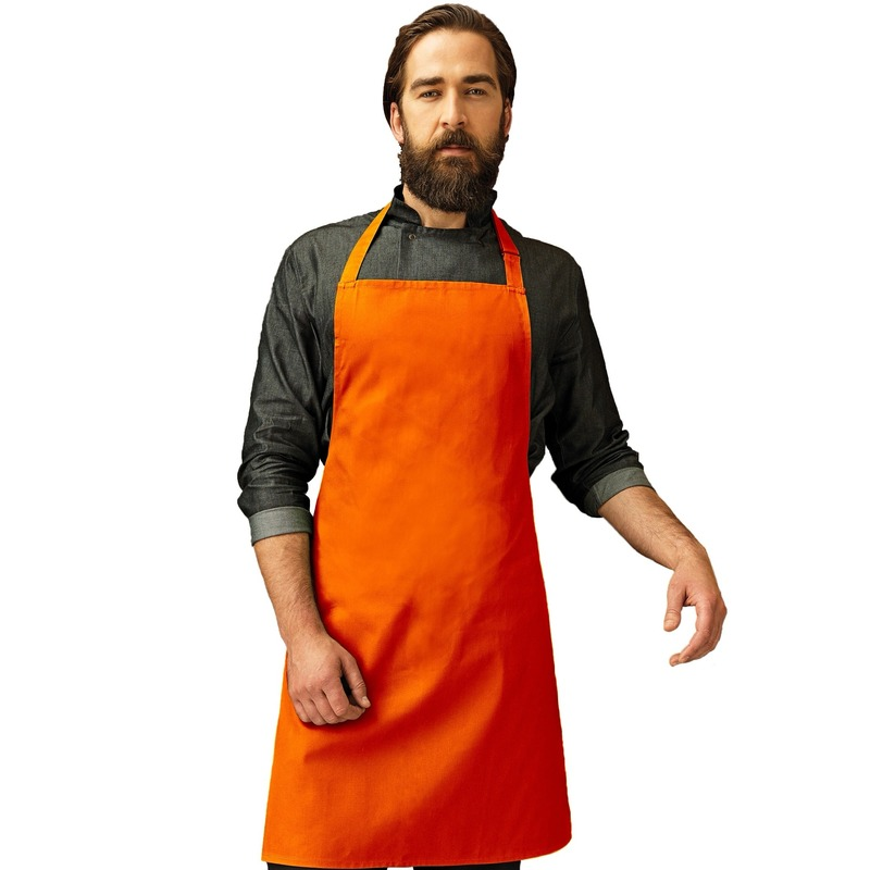Keukenschort Oranje