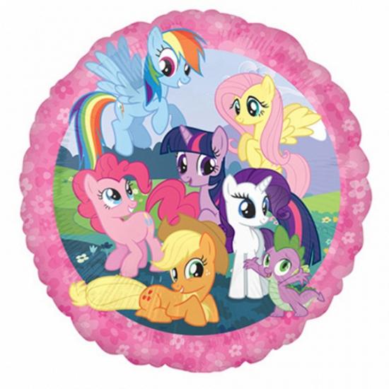 My Little Pony ballonnen gevuld met helium