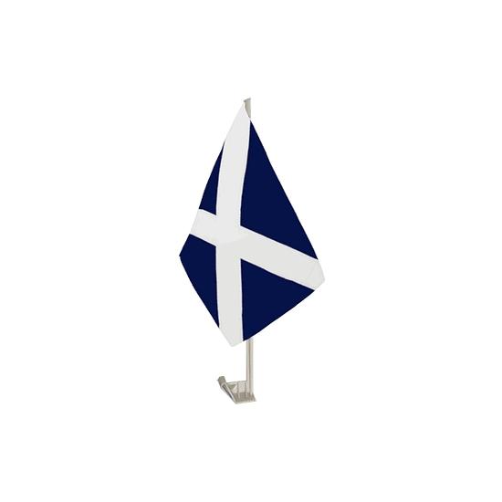 Schotland supporter autovlag