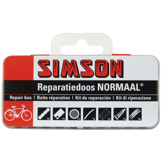 Simson fietsband reparatieset - bandenplaksetje