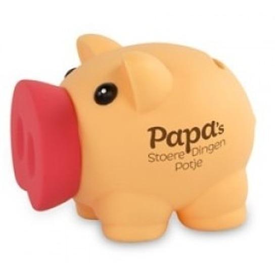 Spaarvarken spaarpot Papa stoere dingen potje
