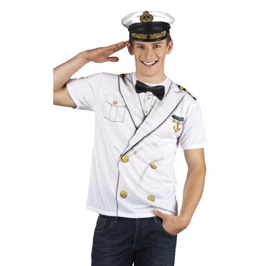 Verkleedkleding kapitein shirt