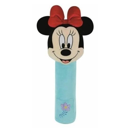 XL pluche Minnie Mouse auto gordelhoes/gordelbeschermer 50 cm
